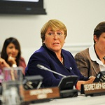 Michelle Bachelet at CSW