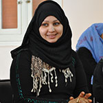Amal Abou El Rouss is a rural woman and elected member of a local women's committee in Upper Egypt.
