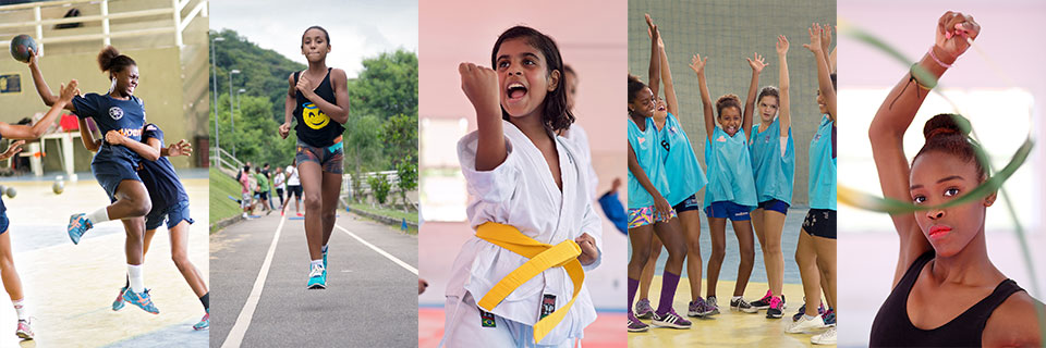 Scoring for gender equality through sport