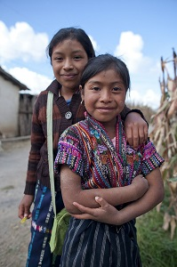 Indigenous girls in Guatemala. Photo credit: United Nations Trust Fund to End Violence against Women/Kara Marnell