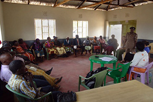 In Kenya, Kamba kitui, Maasai, Luo and Luhya community elders take part in a workshop on fighting disinheritance among widows. Photo courtesy of GROOTS International