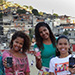 Girls train girls in cell phone apps for safety in Rio de Janeiro favelas