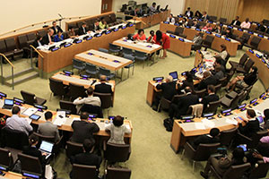 The Executive Director of UN Women laid out her vision for the organization at the Second Regular Session of the Executive Board on 16 September. Photo: UN Women