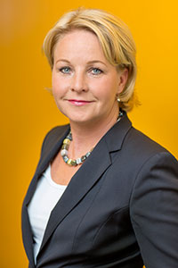 Swedish minister Hillevi Maria Engström. Photo credit: Jann Lipka