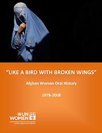 Afghan report on sexual violence against women cover page