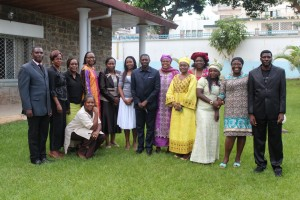 Members of the Civil Society Advisory Group in Cameroon