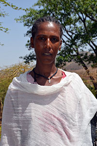 Melkam Embiale, representative of the community women in Libokemkem district