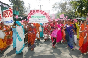 Celebration of women's solidarity