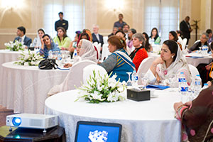 More than 70 people participated in a round table with women parliamentarians of Pakistan on 14 August, 2013.