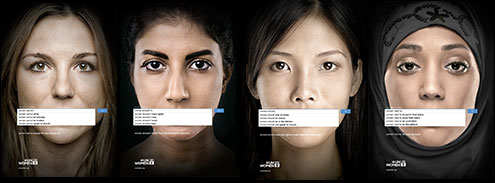Ad series for UN Women by Memac Ogilvy & Mather Dubai