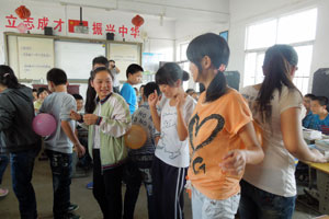 "In China, girls learn how to say ""no"" when they are about to be hurt"