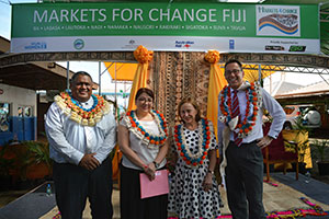 Fiji Markets for Change Press Conference