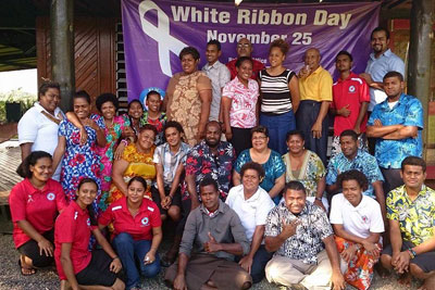 Fiji Red Cross group