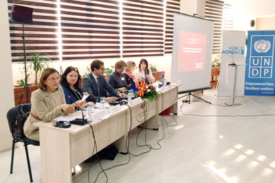 Skopje panel discussion