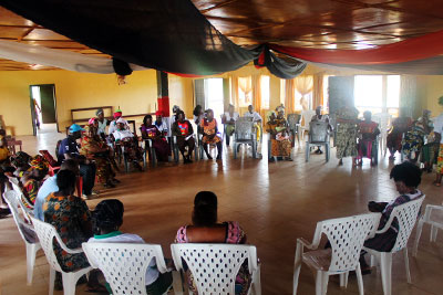Women in Cross Border Trade meeting Liberia