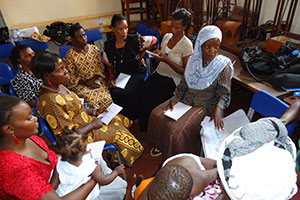 Study circle training: helping the women identify and discuss their community challenges