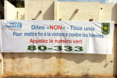 The Control Centre's free hotline began operation in March 2014 and is available throughout Mali and around the clock.