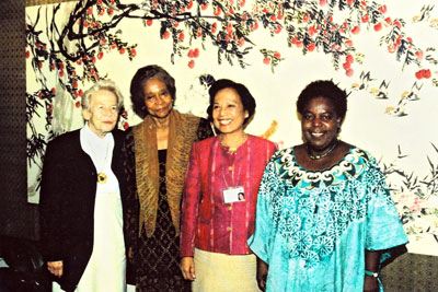 The hosts of four previous World Conferences on Women. They will co-chair the closing part of the meeting. Photo: UN Women