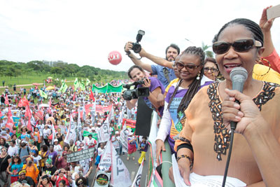 """In Brazil, women will be at the forefront of ending racism"" — Executive Director"