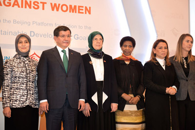 The opening of the global meeting on ending the violence against Women. Photo: UN Women/Ventura Formicone