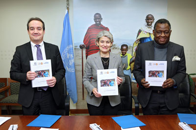 Three UN agencies join forces to boost education for girls and young women