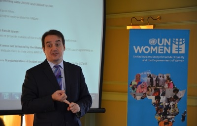 UN Women Deputy Executive Director Yannick Glemarec visits Nairobi