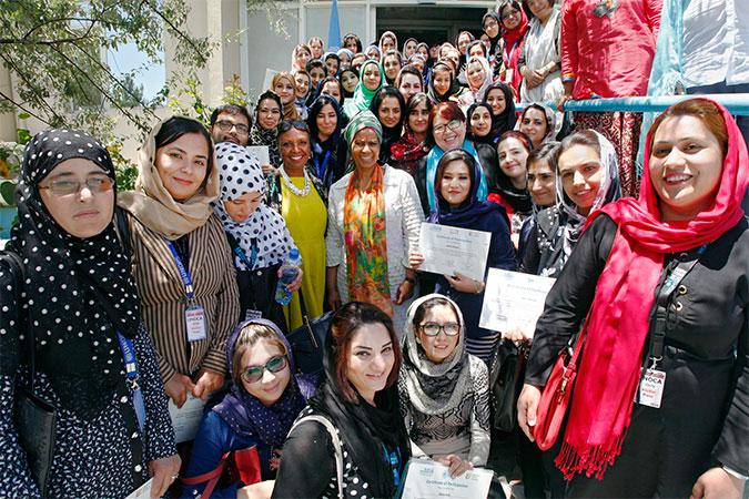 Unlocking the potential of Afghan women