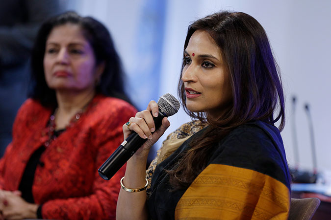Aishwaryaa Dhanush meets with UN Women for a dialogue on gender equality