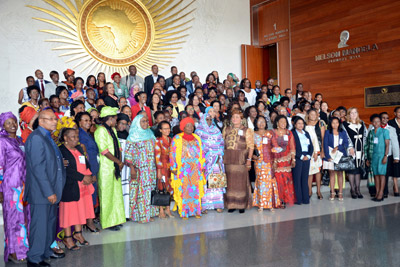 Participants of the African Union Gender Pre-Summit. Photo: UN Women/Rose Ogola