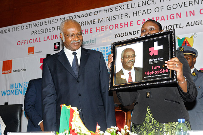 HeForShe campaign launches in Cameroon