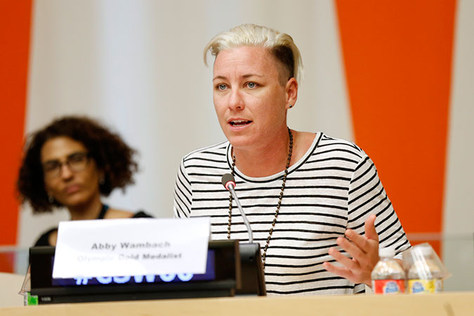 From where I stand: Abby Wambach