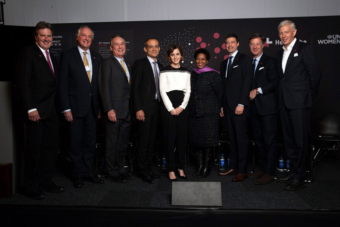 UN Women's HeForShe IMPACT CEOs from Fortune 500 companies reveal gender data