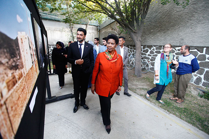 Coverage: UN Women Executive Director in Afghanistan