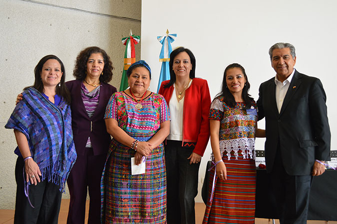 The Mayan Women Politic Association celebrated International Women's Day in Guatemala. Photo: UN Women/Odeth Alvarado