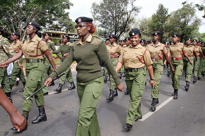 Women police climb the ranks across Africa