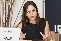 Nahla Valji, Deputy Chief of UN Women's Peace and Security Section. Photo: International Peace Institute.