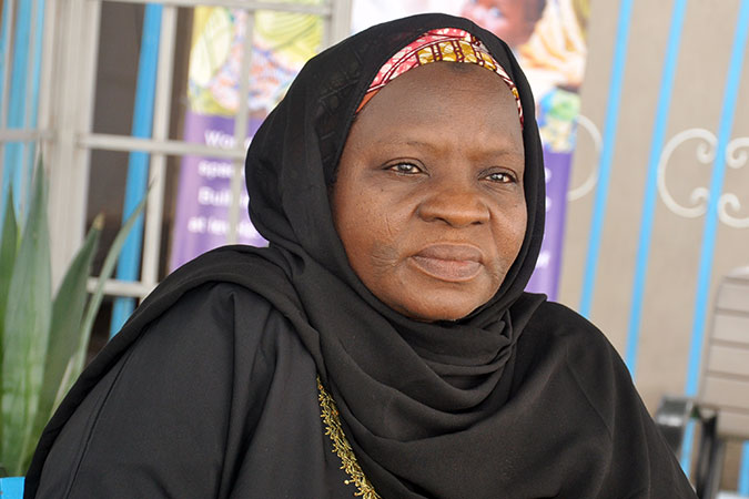 Hajiya Halima Mahdi. Photo: UN Women