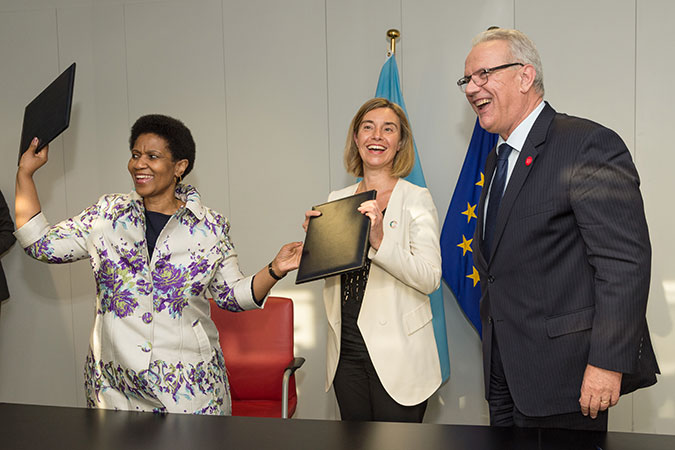 Joint statement on the Memorandum of Understanding between the European Union and the United Nations Entity for Gender Equality and the Empowerment of Women