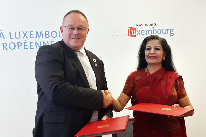 """Luxembourg is well positioned to take a leading role…in the national implementation of the SDGs""—Lakshmi Puri"