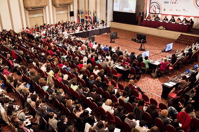 The XIII Regional Conference on Women in Latin America and the Caribbean in Montevideo, Uruguay. Photo: UN Women/Diego Nessi