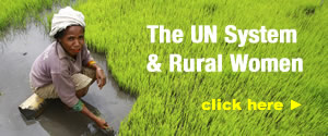 The UN System: Working Together to Empower Rural Women