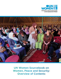 UN Women Sourcebook on Women, Peace and Security