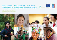 Recognize the strength of women and girls in reducing disaster risks!