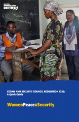 CEDAW and Security Council Resolution 1325: A Quick Guide