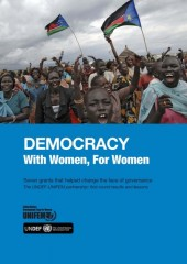 Democracy: With Women, For Women
