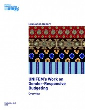 Evaluation Report: UNIFEM's Work on Gender-Responsive Budgeting