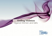Ending Violence against Women and Girls:  UNIFEM Strategy and Information Kit