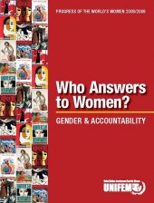 Progress of the World's Women 2008/2009: Who Answers to Women?