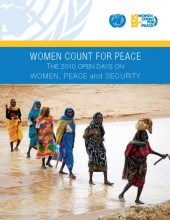 Women Count for Peace: The 2010 Open Days on Women, Peace and Security