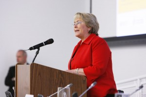 Ms. Bachelet Speaking at the event HIV Priorities for Positive Change: In Women's Words
